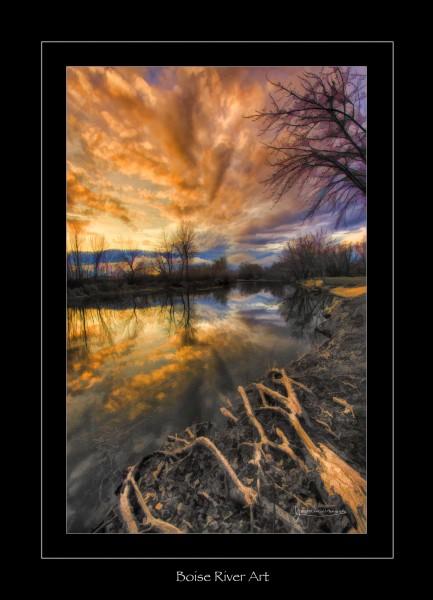 Boise River Art small